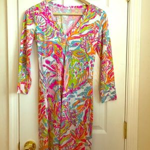 Lilly Pulitzer Dress. Scuba to Cuba. XS